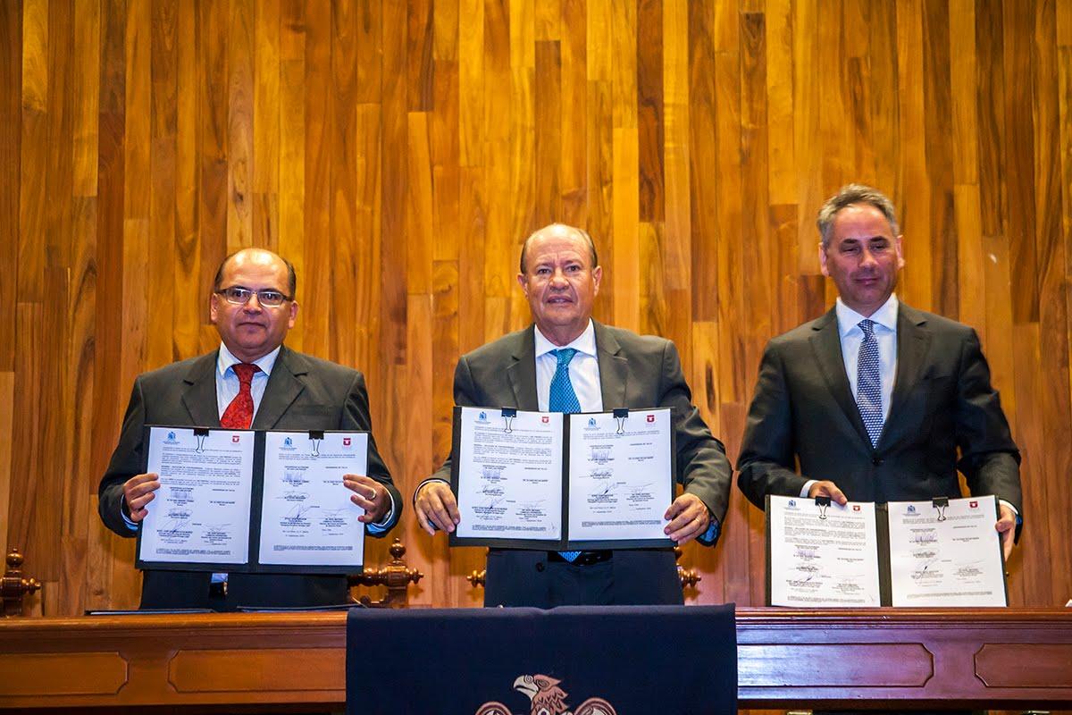 UASLP Y UNIVERSIDAD DE TALCA-CHILE, FORMALIZAN RELACIÓN BILATERAL