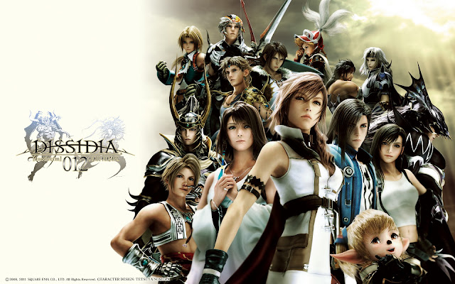 final fantasy dissidia square enix psp jrpg rpg japanese role playing game