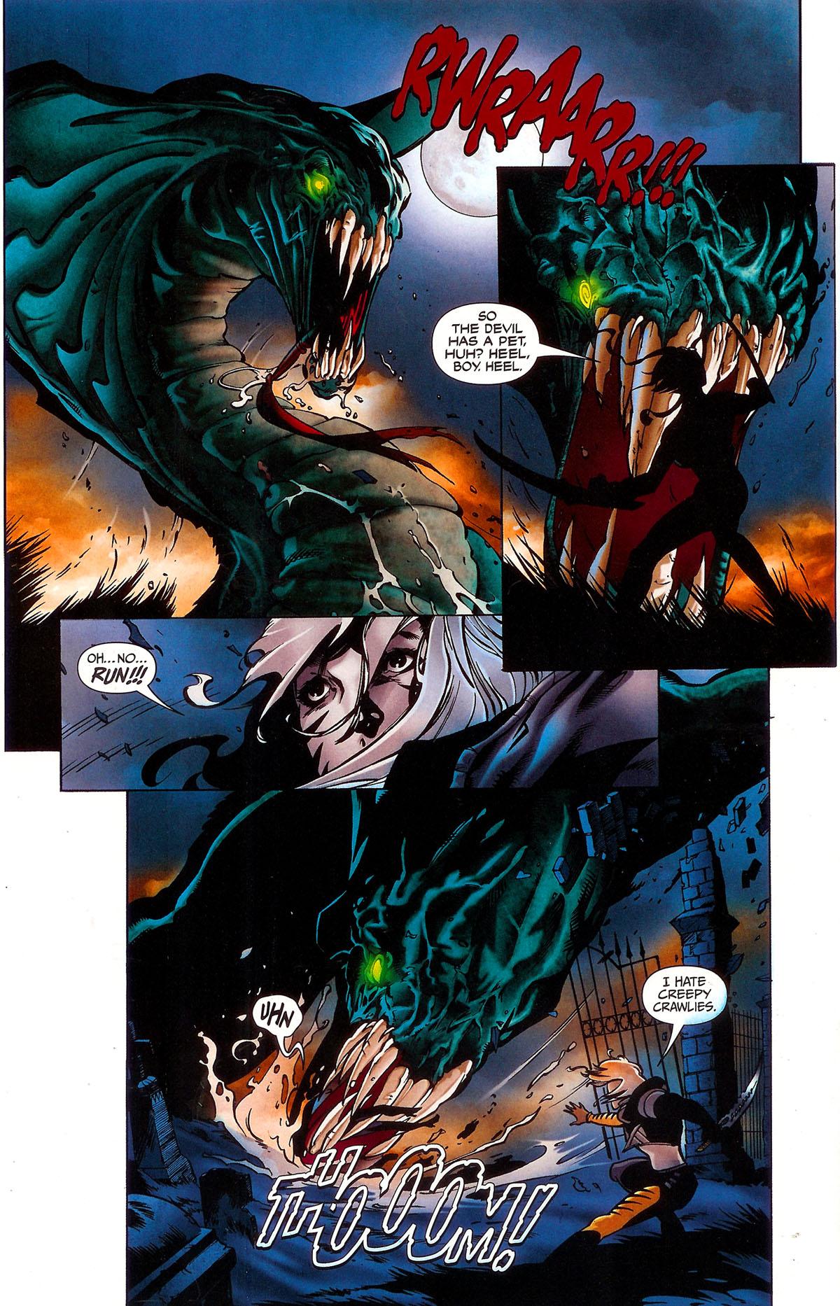 Read online BloodRayne: Dark Soul comic -  Issue # Full - 12