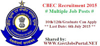 Central Excise and Service Tax Pune Recruitment 2015