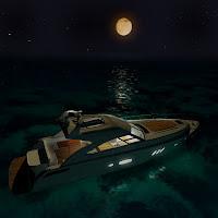 3d boat searay yacht