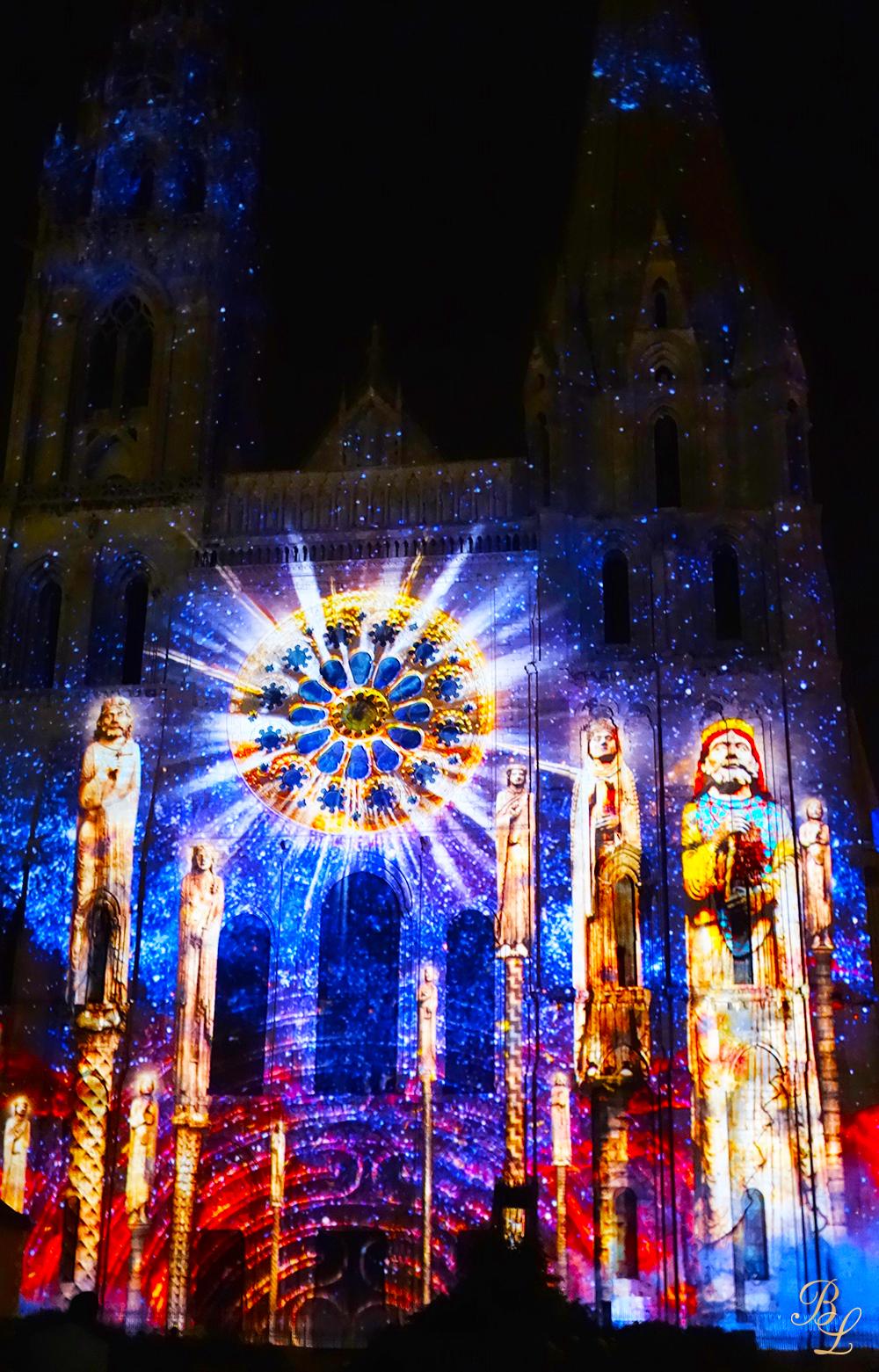 Chartres En Lumi 232 Res Magique Et F 233 233 Rique