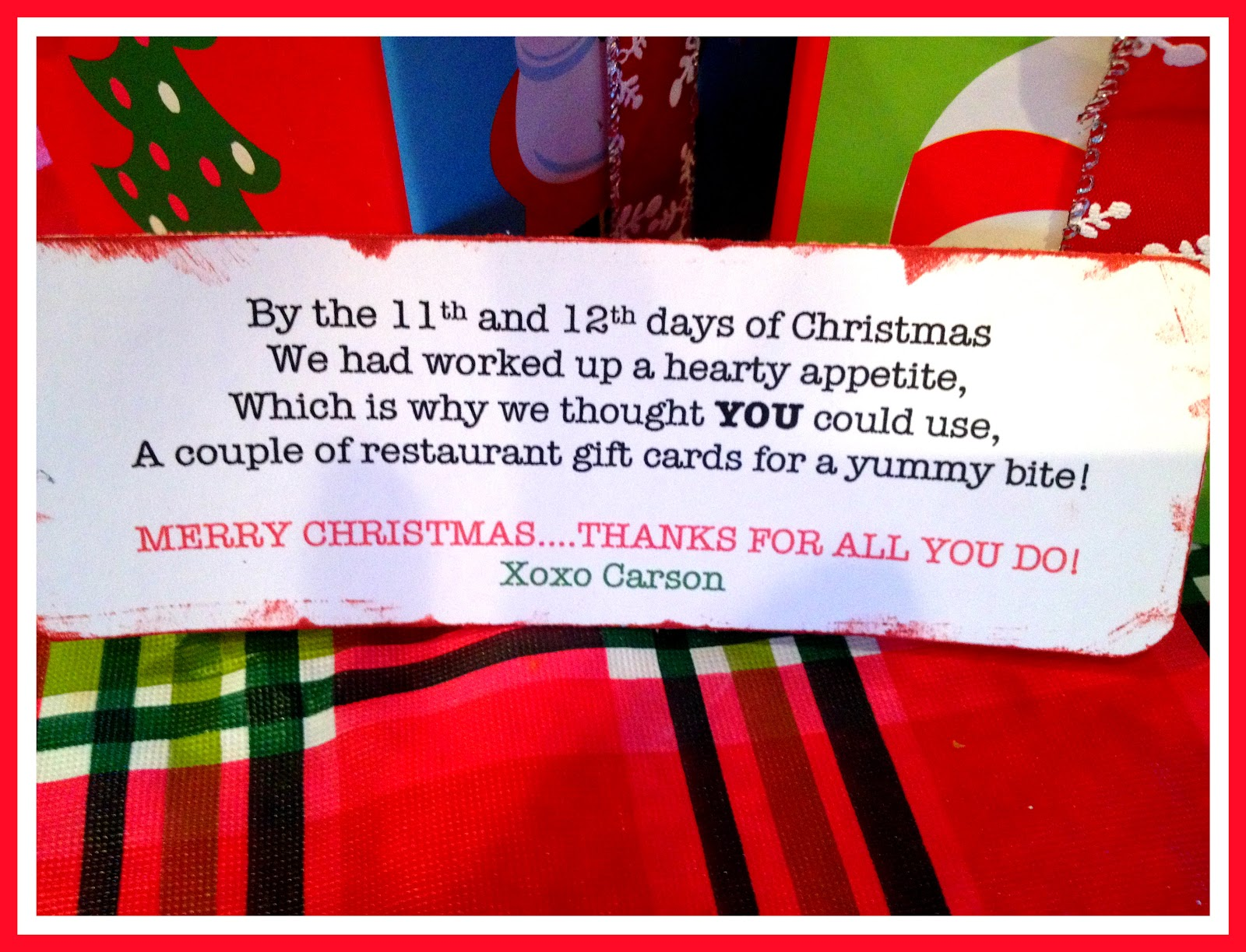 days 11 12 of the 12 days of christmas