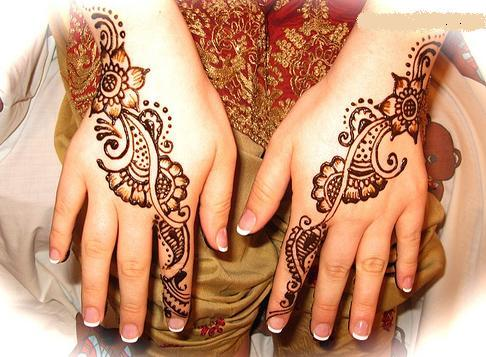 Another bail mehndi design