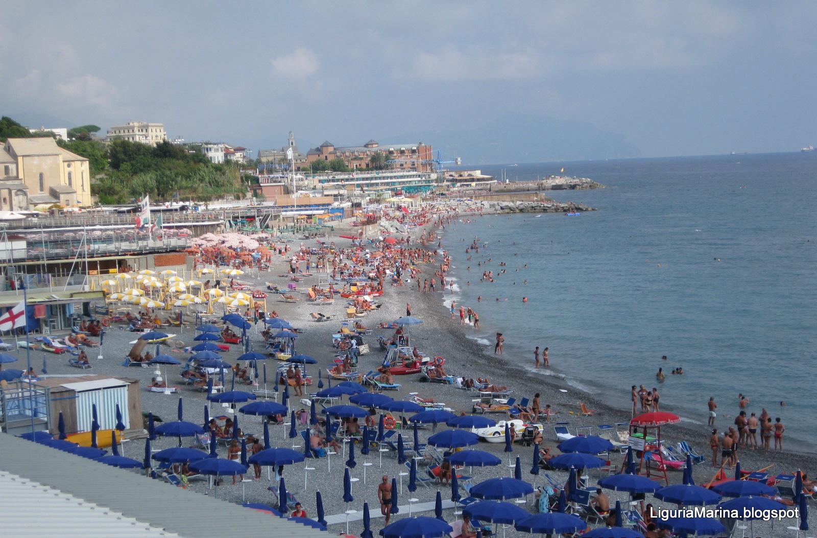 Liguriamarina genova spiagge e mare for Lungomare genova