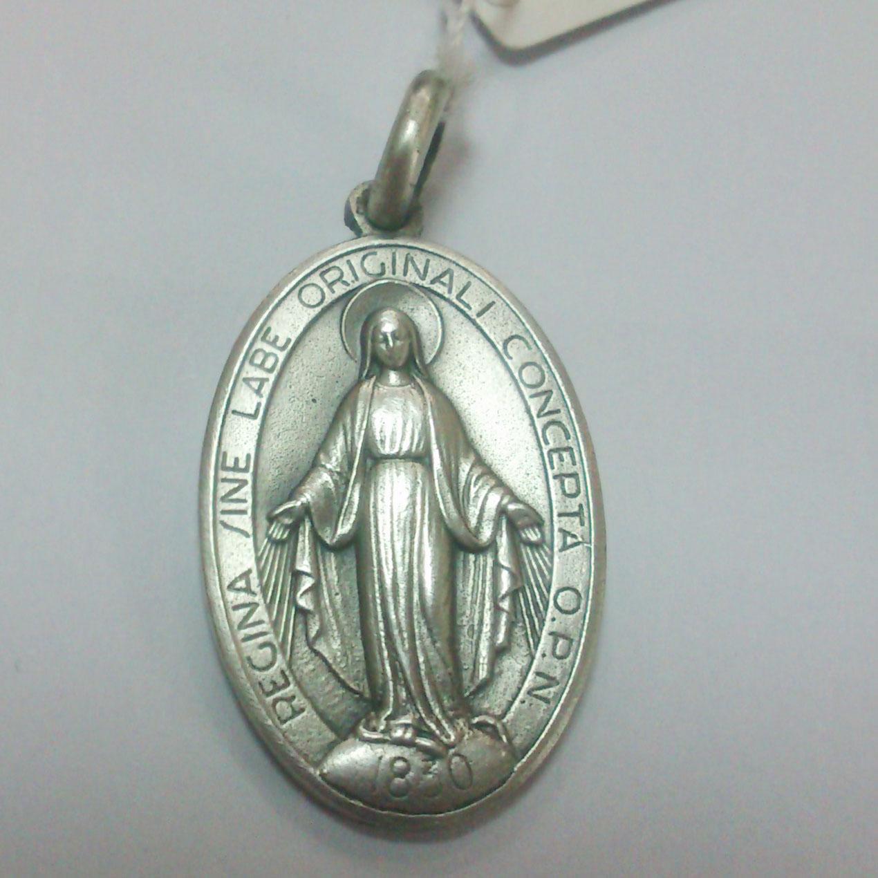 medalllas religiosas plata