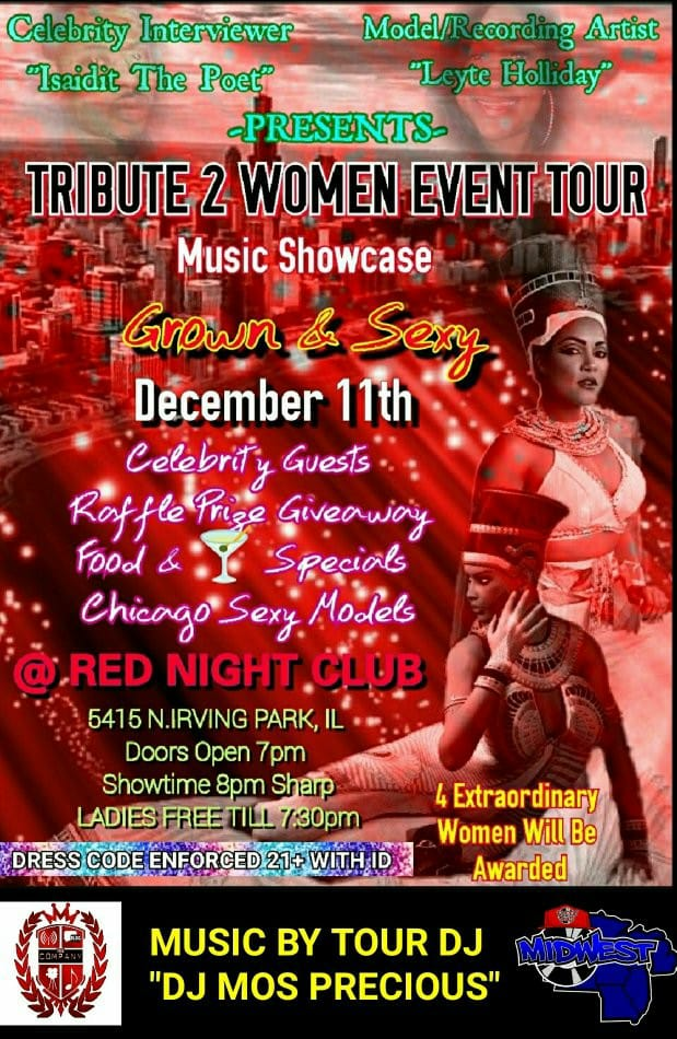 [Event] Tribute 2 Women Event Tour - Chicago
