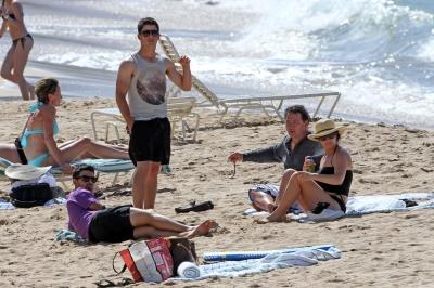 Fame unlimited familina jonas en la playa for En zacatecas hay playa