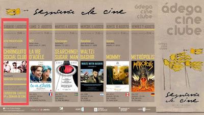 13:00 PRESENT SEMANA DEL CINE+CHIRINGUITO SOCIAL CLUB 1ago'15 en A Baldosa (cine, concierto)