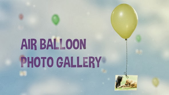 VideoHive Air Balloon Photo Gallery