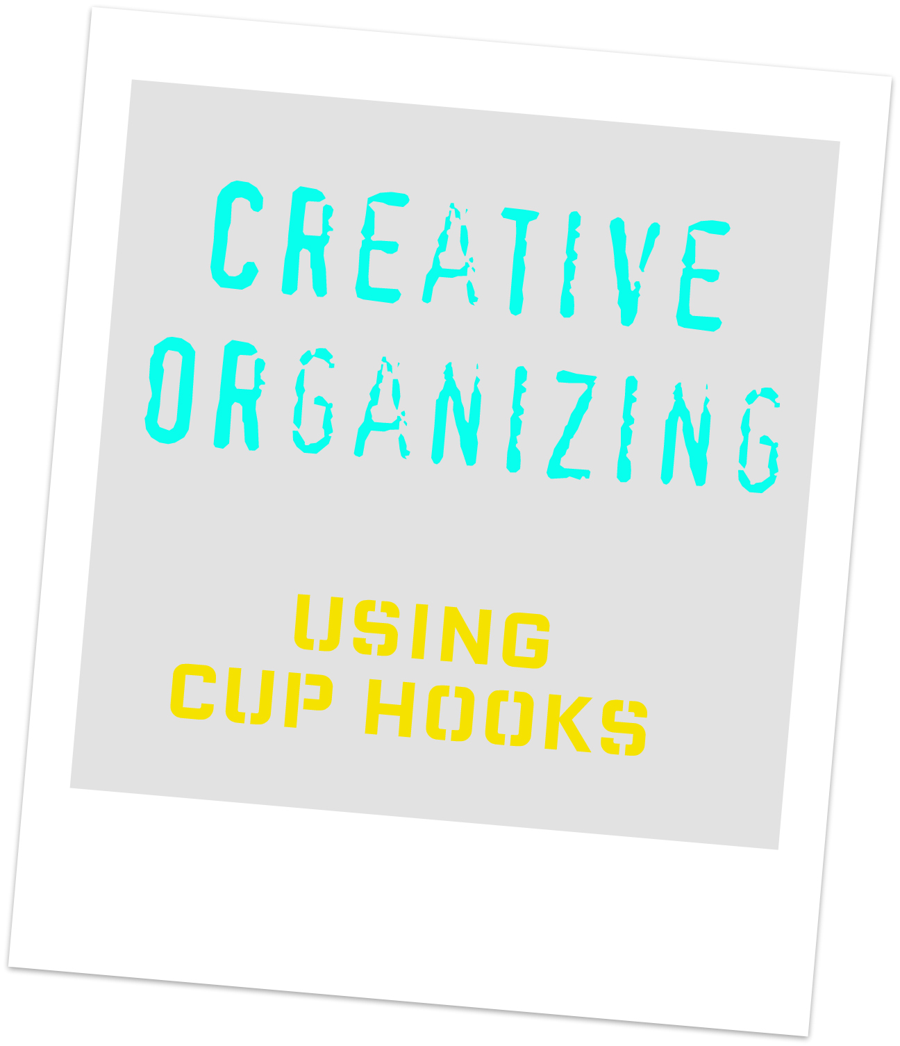 Love and projects creative organization using hooks for Creative organization