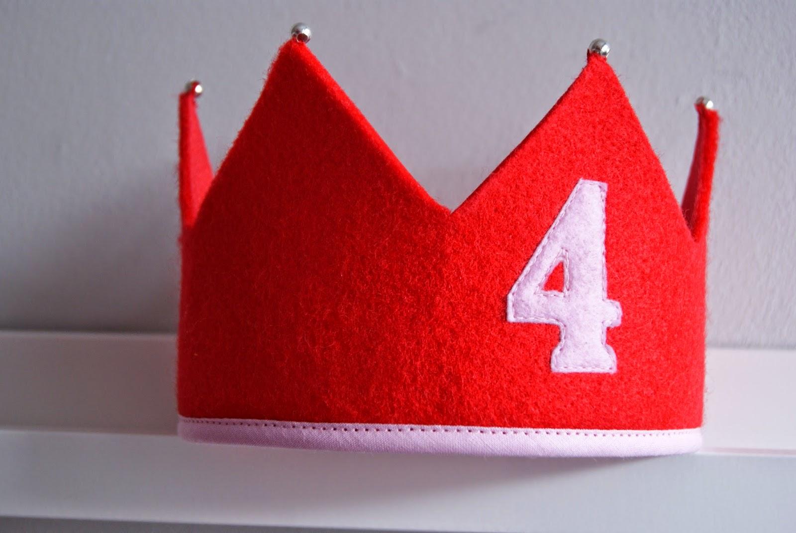 filcowa korona urodzinowa