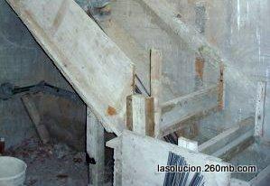 Construir en madera construccion de escaleras de hormigon for Construccion de una escalera de hormigon