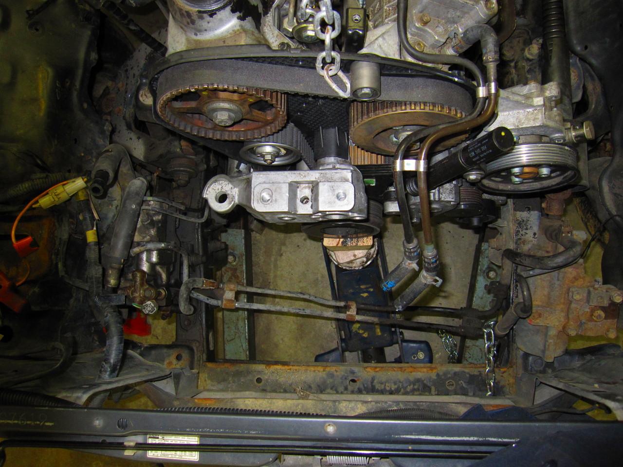 Toyota tdi 4runner project diesel conversion