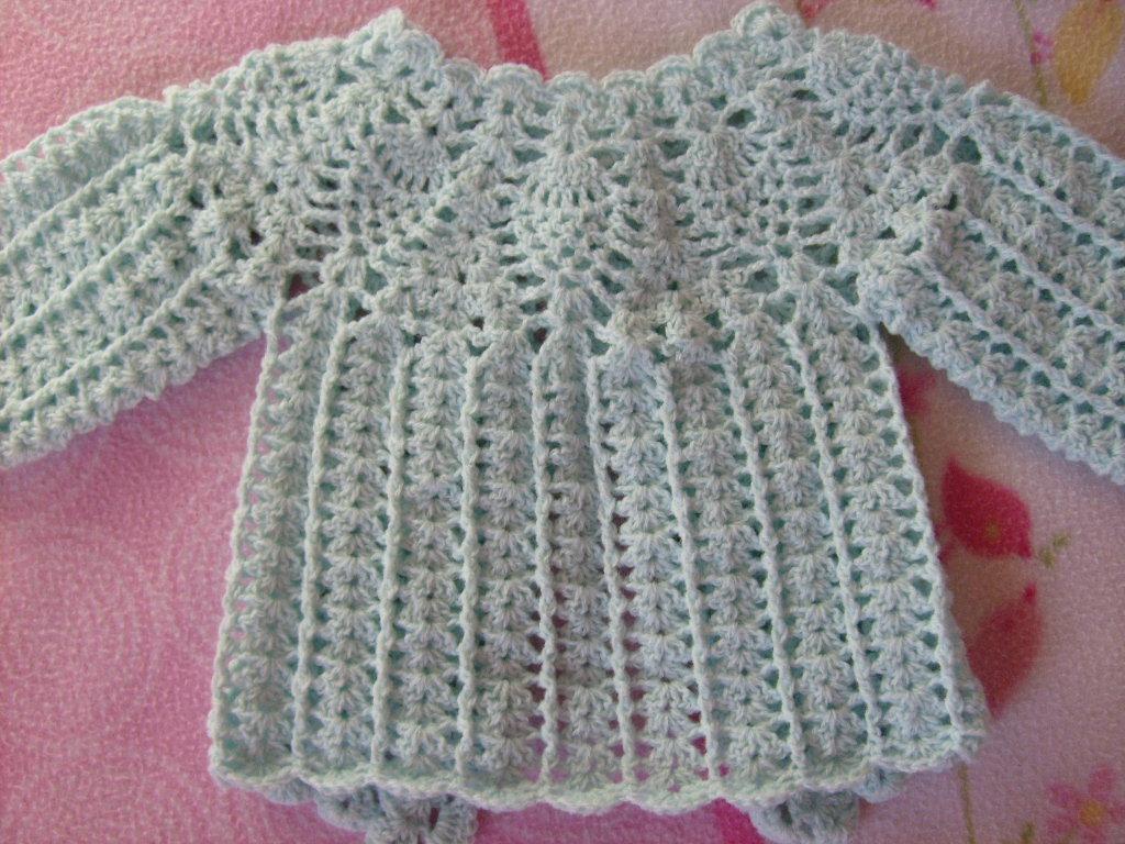 Peque  O Chaleco Tejido A Crochet Con Canesu Redondo  Dise  O De