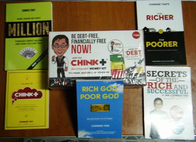 Chink + Money Kit / Books