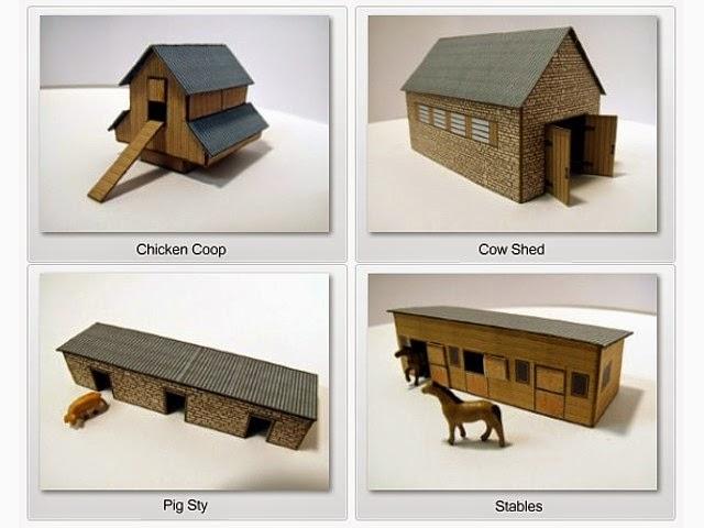 Model Farm Building Plans Images