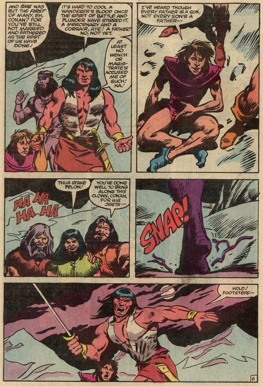 Conan the Barbarian (1970) Issue #145 #157 - English 7
