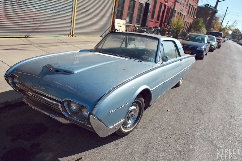 the street peep 1962 ford thunderbird. Cars Review. Best American Auto & Cars Review