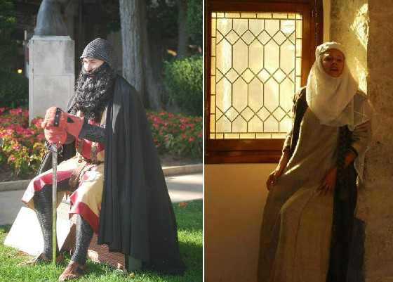 cid_burgos_efimerata_imagen_visita_ruta_teatralizada_jimena_arco_santa_maria