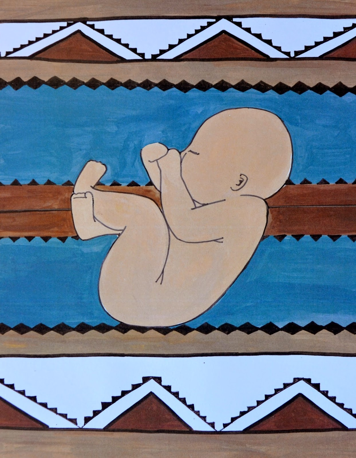 baby boy navajo rug spiritysol