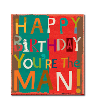 you're the man birthday men's cards liz and pip ltd