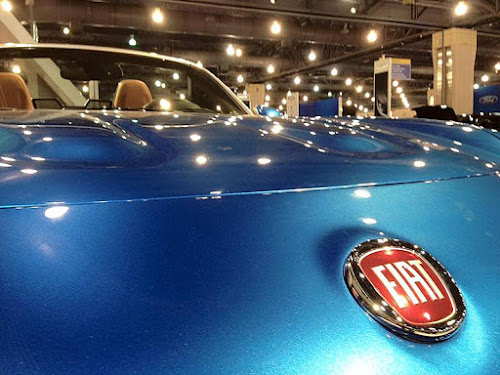 Fiat 124 Spider at Philly Car Show