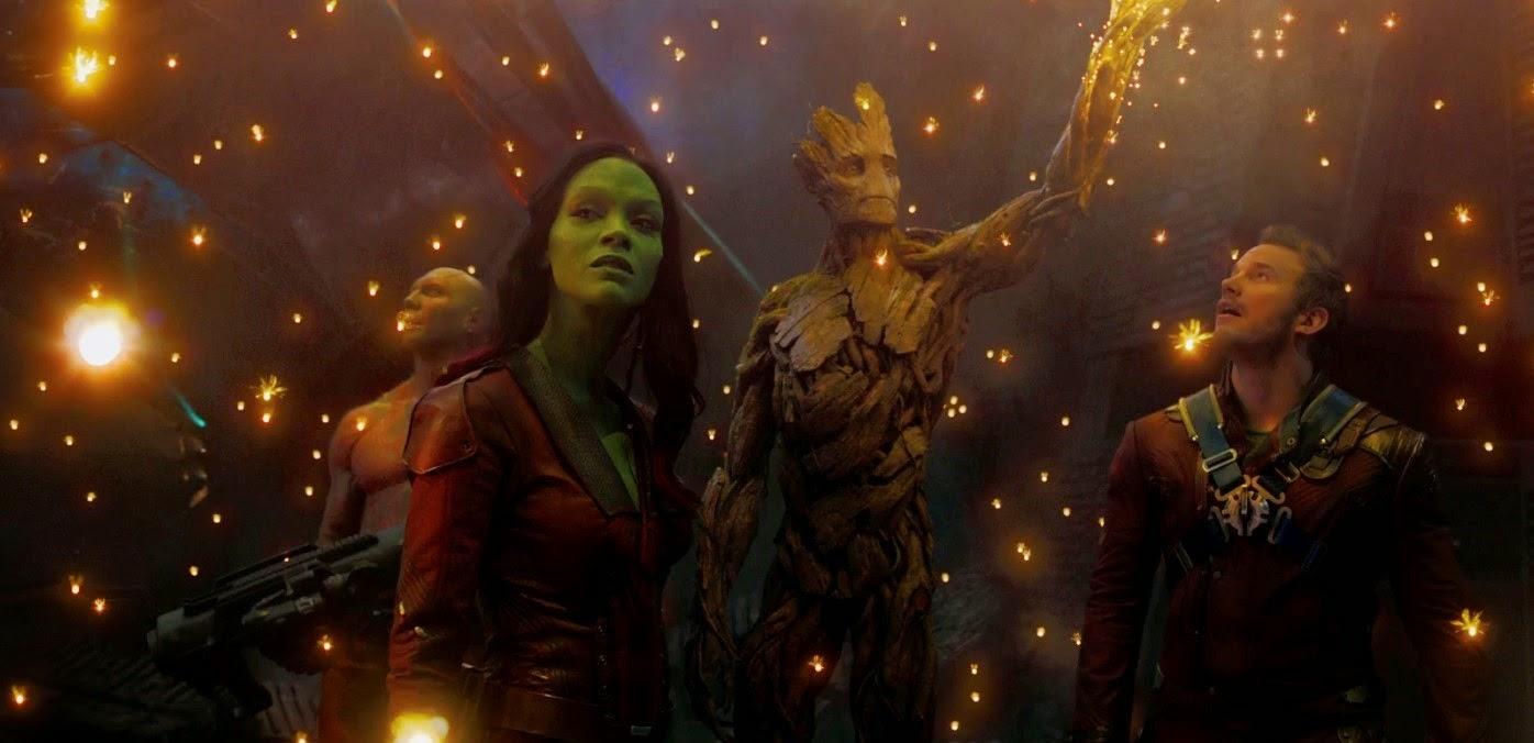 Comercial estendido e pôsteres inéditos de Guardiões da Galáxia, com Chris Pratt e Zoe Saldana
