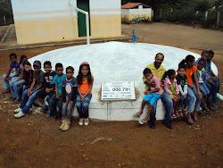 Cisterna na Escola