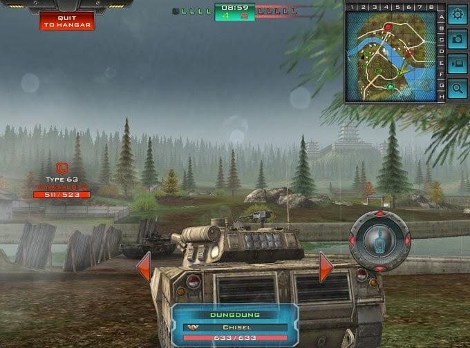 Présentation de Tank Domination pour Android disponible en 2014