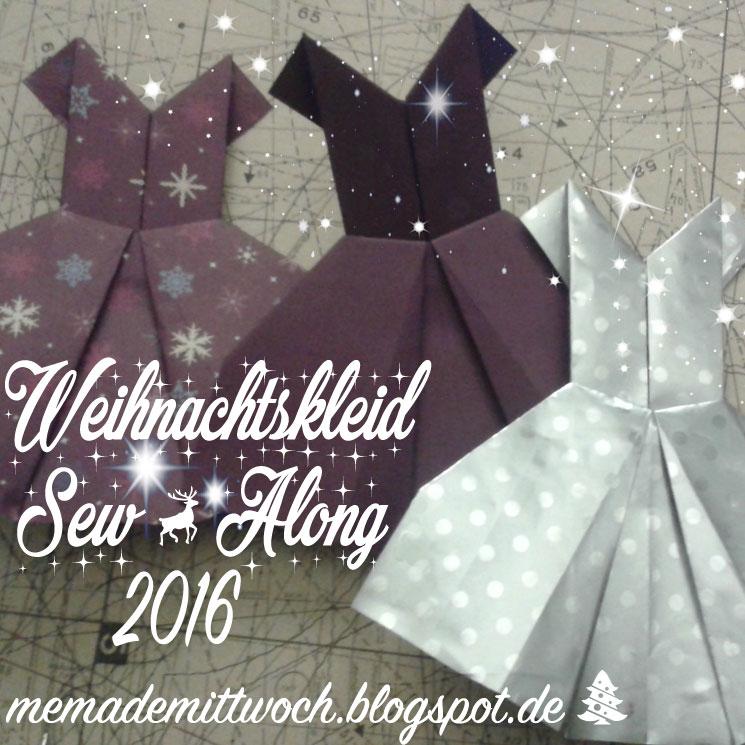 Weihnachtskleid sew along 2016