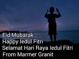Selamat Hari Idul Fitri