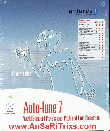 Antares Auto-Tune 7 Crack And Serial Key Full Version Free Download