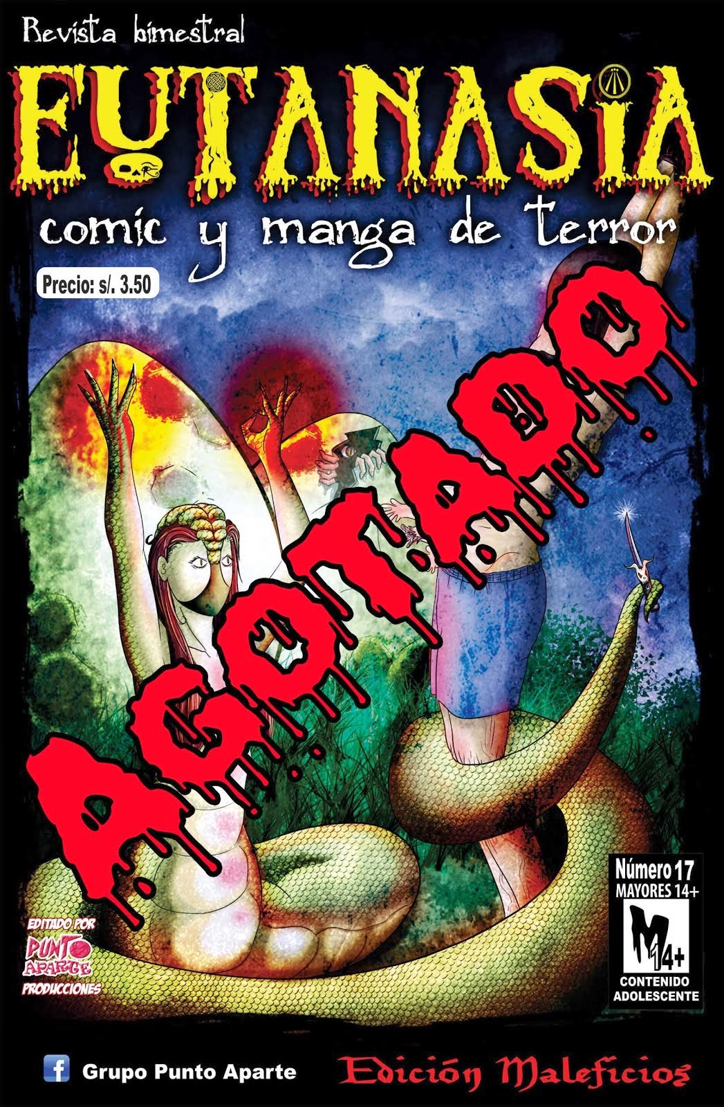 Eutanasia n°17 (edición maleficios) Enero 2012