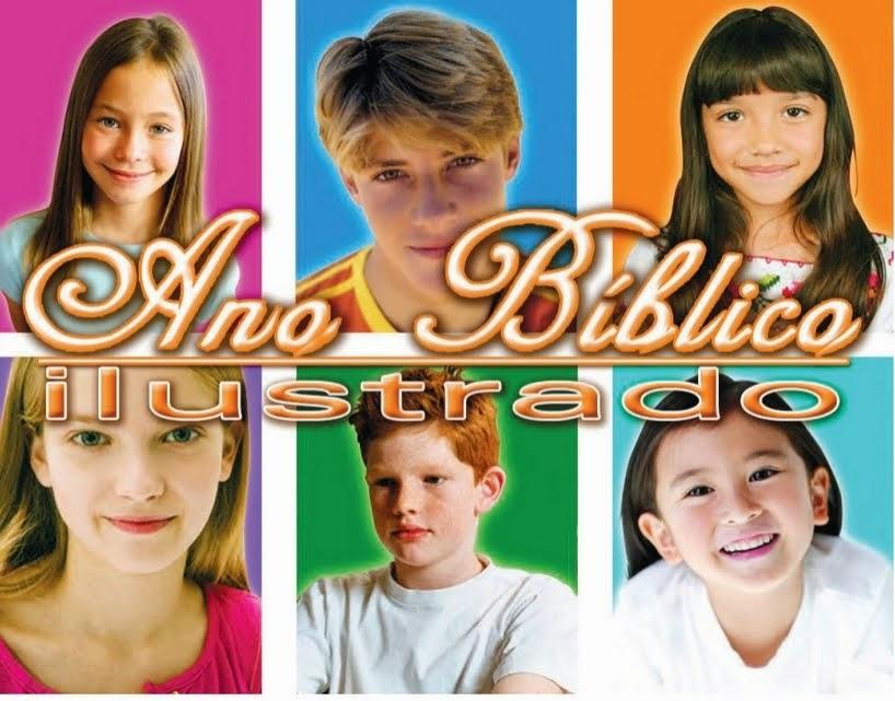 Ano Bíblico ilustrado para crianças