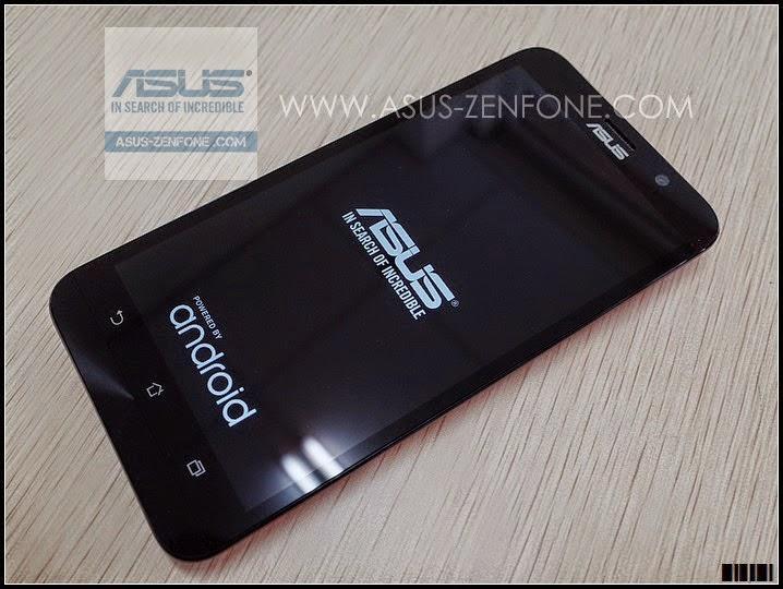 ASUS Zenfone 2 First Boot Screen Display