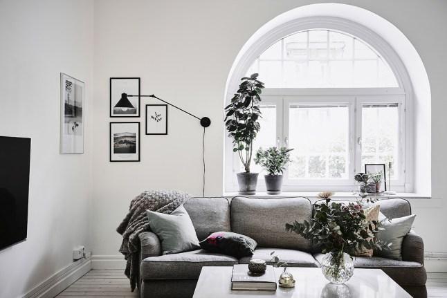 Como decorar una casa blanca y gris boho deco chic - Como decorar una casa ...