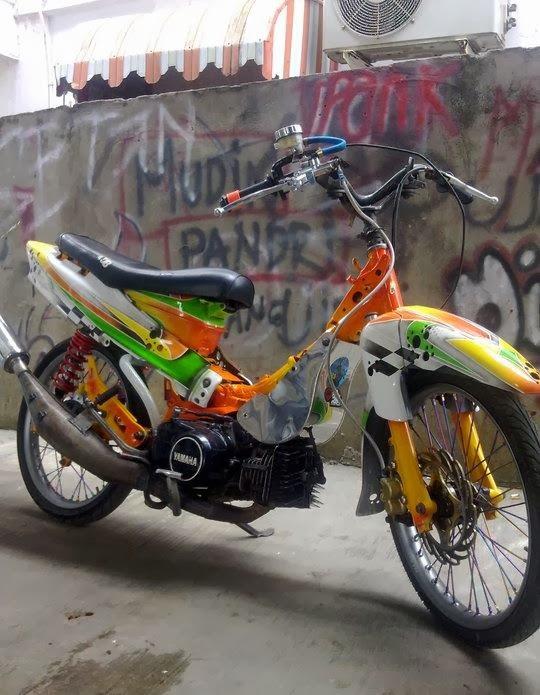contoh foto motor drag fiz r