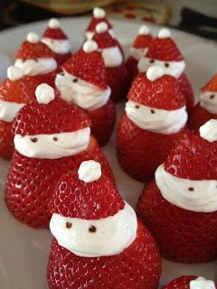 doces decorados para o natal