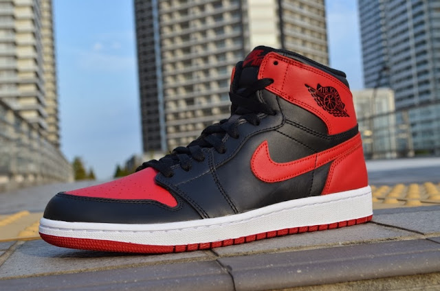 "Nike Air Jordan 1 Retro High OG ""Bred"""