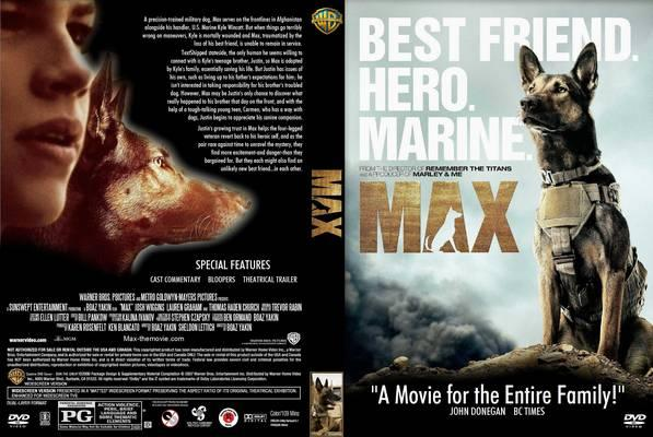 Download Max BDRip XviD Dual Áudio Max 2015  Front Cover 102821