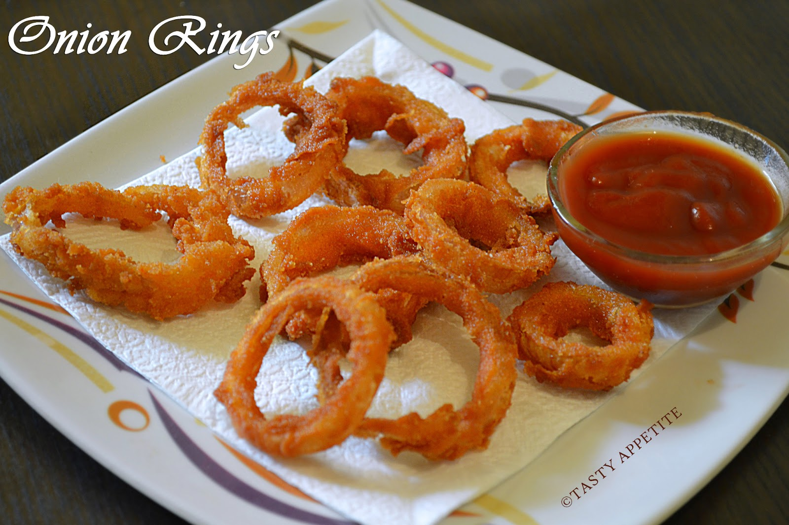 Crispy Onion Rings Recipe — Dishmaps