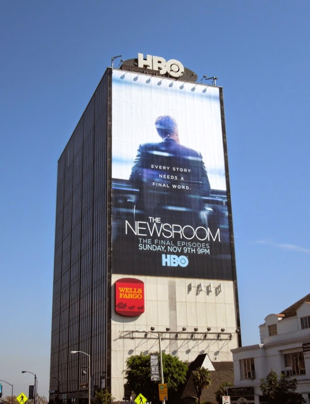 The Newsroom giant season 3 billboard
