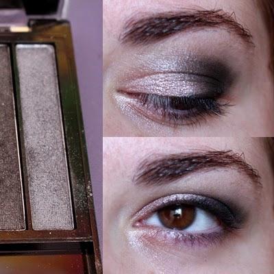 3eme étape du maquillage: Pose d'un crayon noir en ras de cil