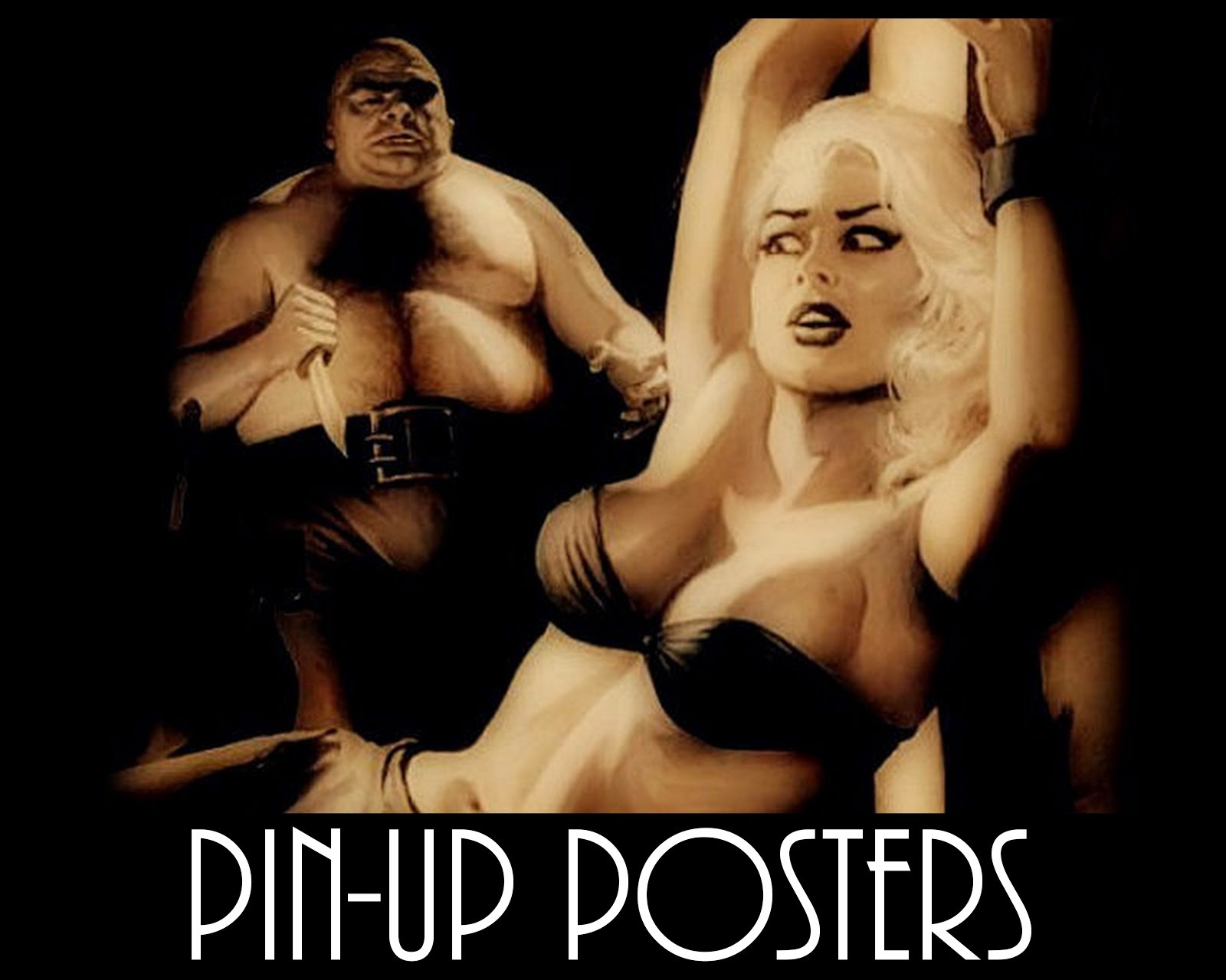 Pin-Up Art For Sale