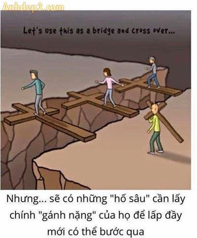 Bài học cuộc sống nhận được từ gánh nặng trên vai