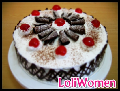... Kue Tart Ulang Tahun Black Forest | Loliwomen Kue Tart Black Forest