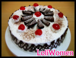 Resep dan Cara Membuat Kue Tart Ulang Tahun Black Forest   Loliwomen