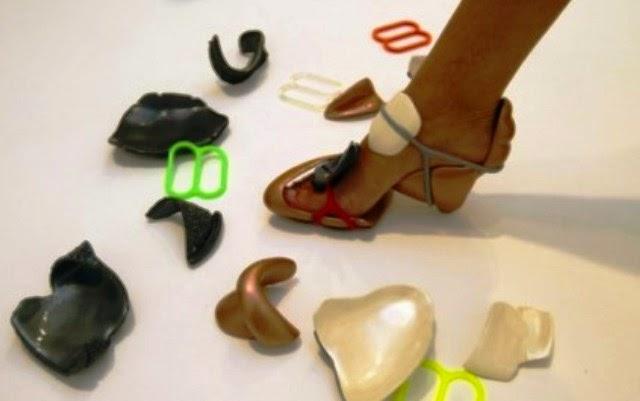 Sepatu Paling Unik serta Aneh - Sepatu Myshell256