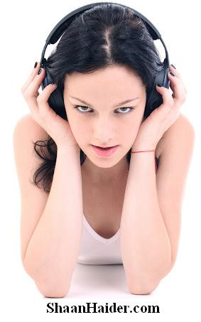 Top 10 Legal Sites for Free Music & Videos - Hot Girl Listening Music